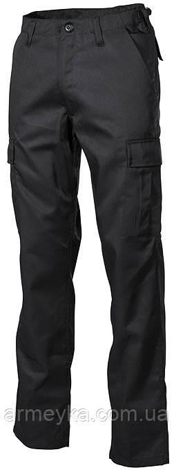 USA брюки BDU, черные