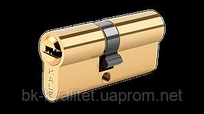 Цилиндр KALE 164 SNC 68 (31х37) ключ/ключ, Латунь, с защитой от высверливания