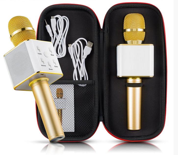 Беспроводной Bluetooth микрофон караоке  Q7