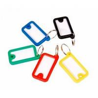 Брелок для ключів пластиковий 45*26мм, асорті Economix