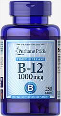 Puritan's Pride Vitamin B-12 1000 mcg, Вітамін B12 (250 таб.)