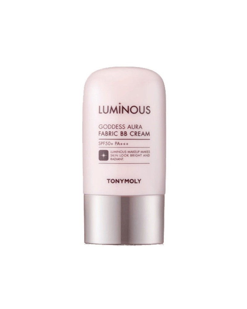 Полуматовый BB-крем для лица Tony Moly Luminous Godness Aura Fabric BB Cream SPF50+ 02 Natural Beige 40 мл