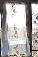 Занавескм на створку окна Цветочки 2шт, фото 1