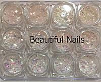Набор декора для ногтей,лунные конфети, фото 1