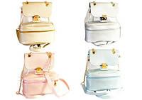 Рюкзак-сумка подростковый для девочек из прозрачного ПВХ 28*24*12см Kidis