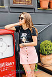 Женские юбка джинсовая с пуговицами (в расцветках), фото 4