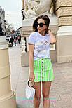 Женские юбка джинсовая с пуговицами (в расцветках), фото 5