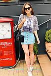 Женские юбка джинсовая с пуговицами (в расцветках), фото 6