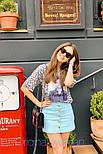 Женские юбка джинсовая с пуговицами (в расцветках), фото 7