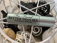 Водостойкая тушь TOO FACED Better Than Sex Waterproof Mascara