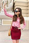 Женские юбка с поясом (в расцветках), фото 6