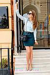 Женские юбка с поясом (в расцветках), фото 3