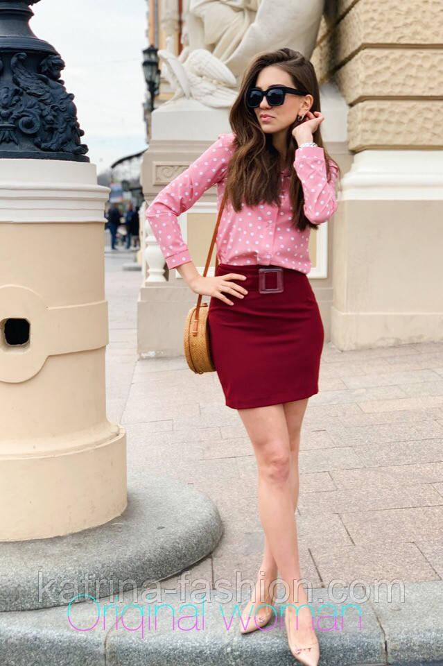 Женские юбка с поясом (в расцветках)