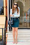 Женские юбка с поясом (в расцветках), фото 5