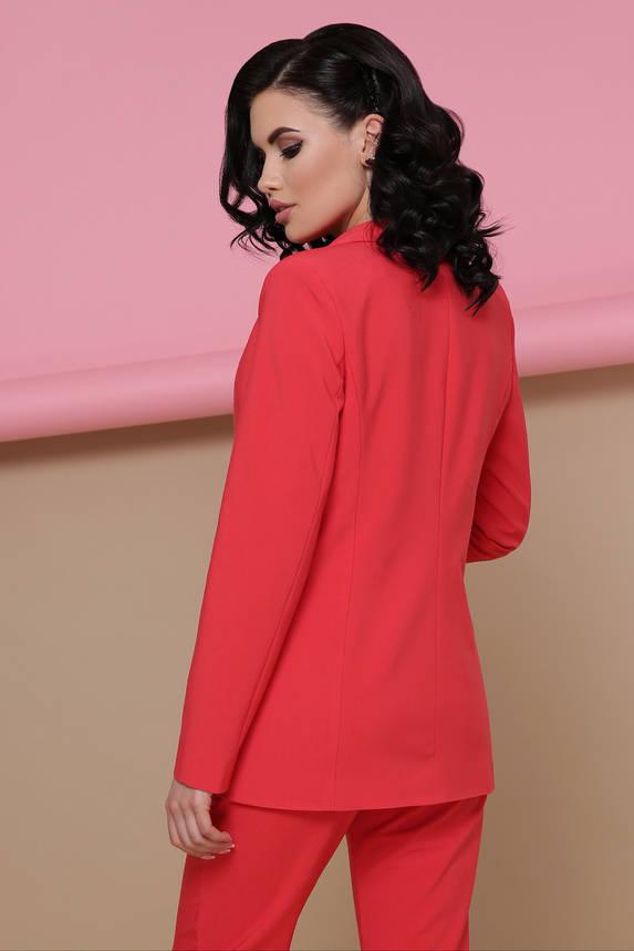 Костюм женский брючный классический красный, фото 2