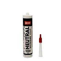 ТСанитарный силиконовый герметик для ванной (нейтральный) белый, BeLife, 310мл