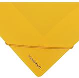 Папка пластиковая А4 на резинках Format, желтая, фото 3