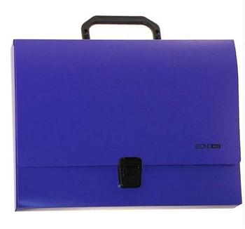 Портфель пластиковый А4 Economix, фиолетовый