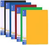 Папка А4 с 100 файлами Economix, ассорти