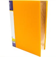 Папка А4 с 40 файлами Economix, желтая
