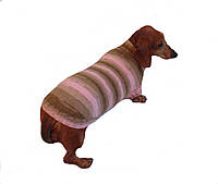 Вязанный свитер для таксы или маленькой собаки, фото 1