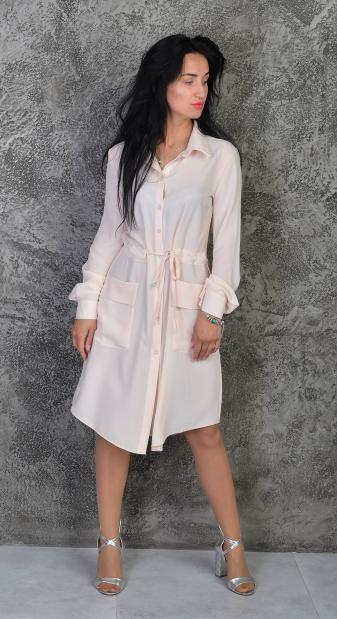 """Платье-рубашка """"Лана"""" размеры 42-44,46-48,50-52"""