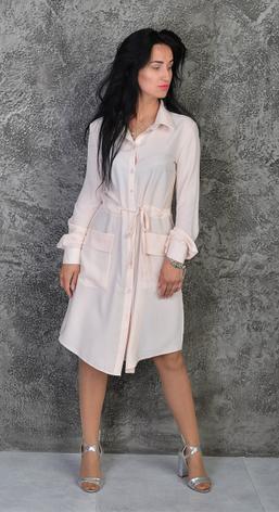 "Платье-рубашка ""Лана"" размеры 42-44,46-48,50-52, фото 2"