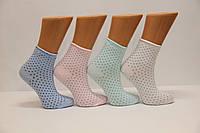 Стрейчевые женские носки Монтебелло без резинки
