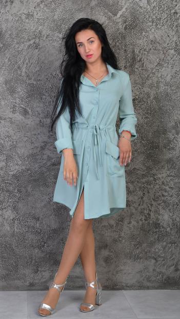 """Платье-рубашка """"Лана"""" размеры 42-44,46-48"""