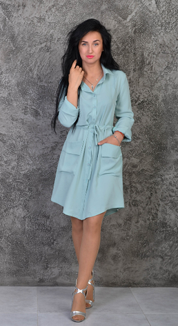 "Платье-рубашка ""Лана"" размеры 42-44,46-48, фото 2"