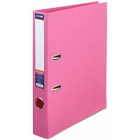 Папка-регистратор А4 LUX Economix, 70 мм, розовая