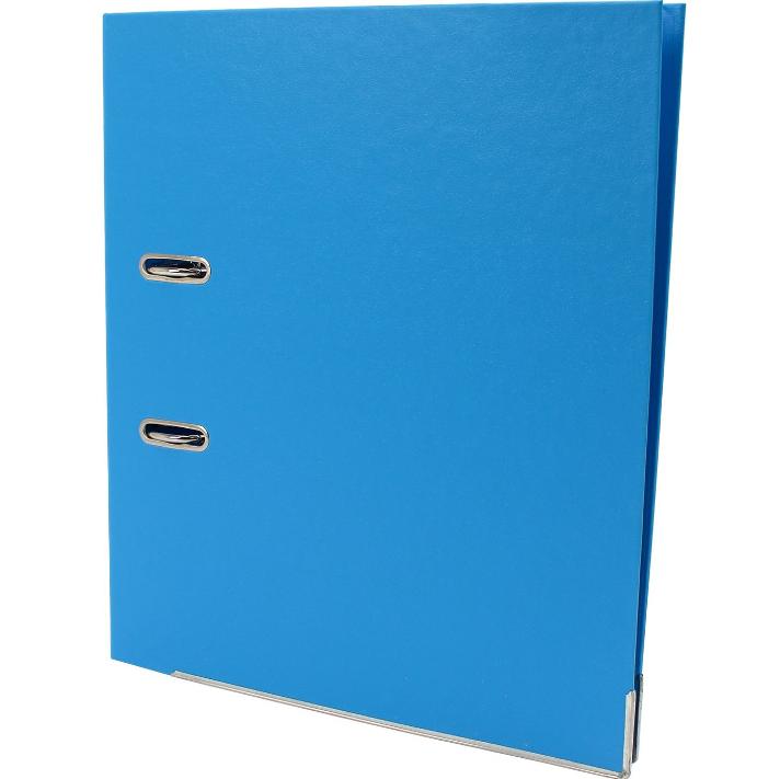 Папка-регистратор А4 LUX Economix, 50 мм, голубая E39722*-11