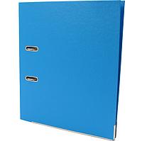 Папка-регистратор А4 LUX Economix, 50 мм, голубая