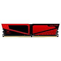 Память TEAM 4 GB DDR4 2400 MHz T-Force Vulcan Red (TLRED44G2400HC1401)