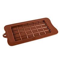Форма для шоколада силиконовая Плитка крупная ячейка