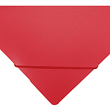 Папка пластикова для документів А4 на гумка, червона N31601-53, фото 3