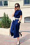 Женский стильный комбинезон кюлоты (в расцветках), фото 7