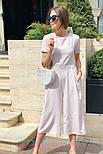 Женский стильный комбинезон кюлоты (в расцветках), фото 5