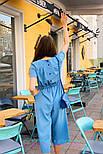 Женский стильный комбинезон кюлоты (в расцветках), фото 10