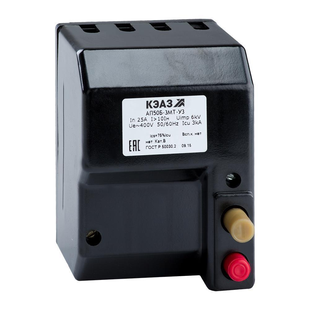 Автоматический выключатель АП 50Б 3МТУ 3.2 6,3А 10 Ін