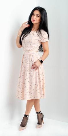 """Модное платье """"Нежность"""" размеры 44, фото 2"""