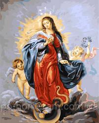 Картина по номерам Дева Мария (BRM22348) 40 х 50 см