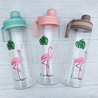 Бутылка для воды Flamingo Фламинго 950 мл