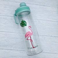 Бутылка для воды Flamingo Фламинго 950 мл Голубой