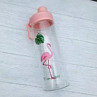 Бутылка для воды Flamingo Фламинго 950 мл Розовый