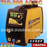 Аргоновая сварка CrepoW TIG-200 AC DC