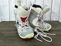 Ботинки для сноуборда Bone Out, женские, Разм 40.5 (26 см), кожа, Оч хор сост!