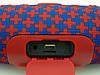 JBL Charge 3 mini A+ в стиле xtreme, портативная колонка с Bluetooth FM MP3, Malta красная с синим, фото 4