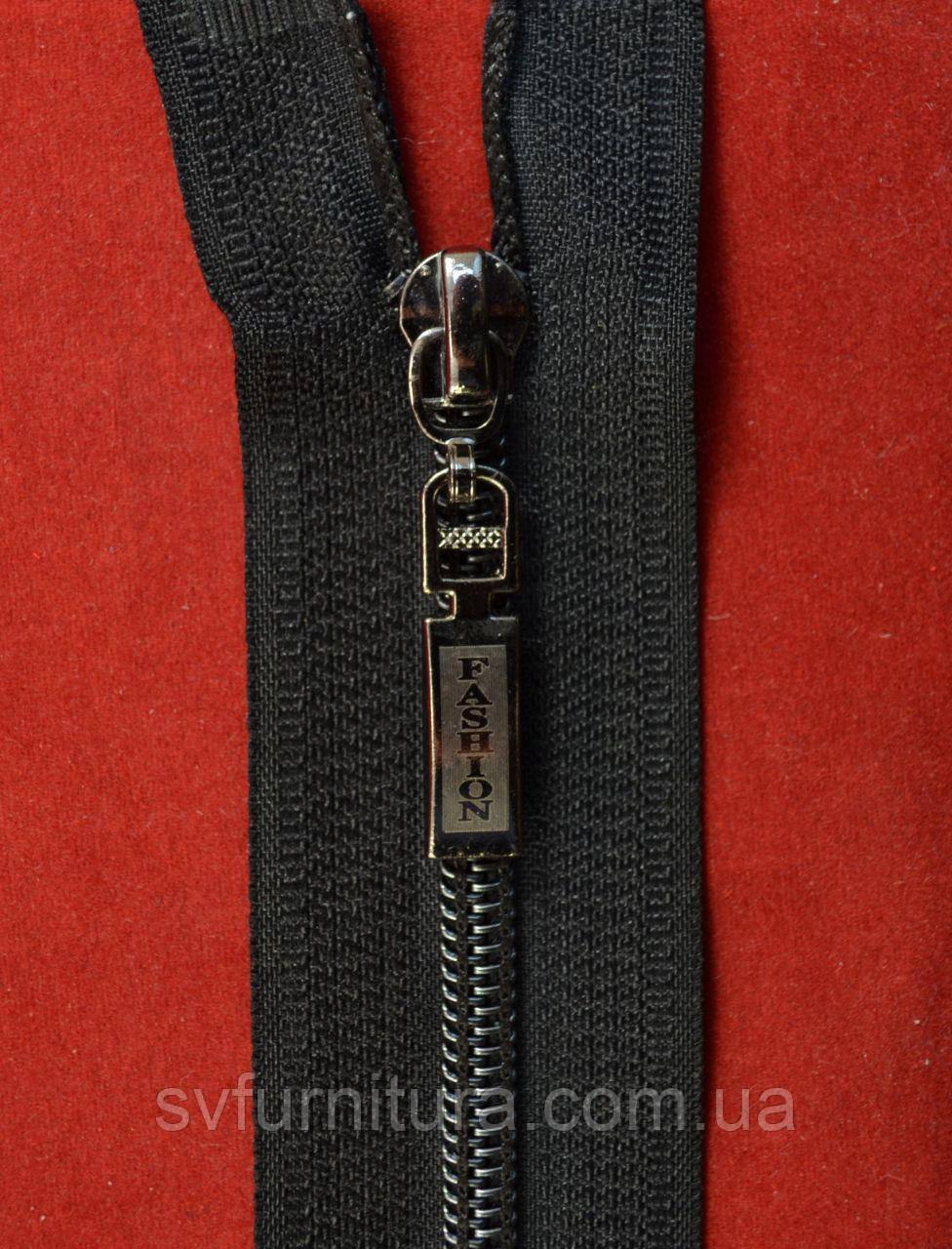 Молния спираль 5 антик Fashion никель 322 65см