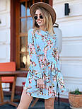 Женское легкое платье с принтами (в расцветках), фото 4